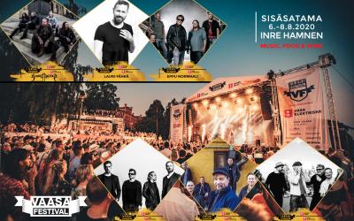 Vaasa Festival julkaisee kuusi ensimmäistä kiinnitystään!
