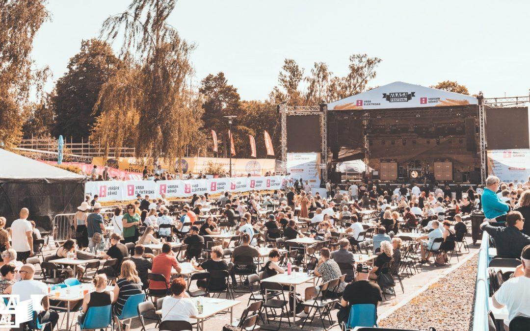 Vaasa Festivaleilla ei korona-tartuntoja – tapahtuman järjestelyt saivat kiitosta viranomaisilta